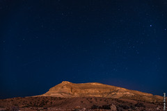Falling Stars (barak.shacked) Tags: longexposure mountain night stars star nightshoot negev fallingstar einovdat starshoot