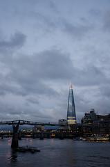 We meet again, London (Camila Mateluna) Tags: uk inglaterra bridge england london millenium londres reinounido theshard