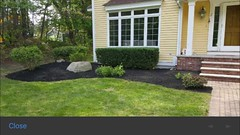 Mulch beds weeded, trimmed and edged.