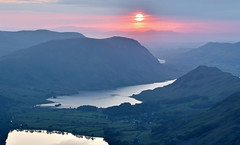The End (Andrew Mowbray) Tags: sunset lakedistrict cumbria crummockwater buttermere lakedistrictnationalpark ldnp wainwrightbook7