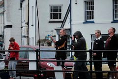 Sound Waves (Livesurfcams) Tags: fuji candid gig racing devon noisy shocked appledore klaxon soundwaves 55200 xt1