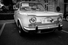 Simca 1000 (cedland) Tags: simca 1000 au parmain classic 2016 ile de france 95 val doise noir et blanc bw black white nb car classics french franaise franais