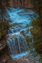 MH5_9234 (memories by Mark) Tags: rockies waterfall alberta banff rockymountains banffnationalpark johnstoncanyon