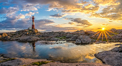 Lighthouse O'Rama (Richard Larssen) Tags: sunset sea sky sun seascape reflection nature norway clouds landscape evening coast norge scenery sony norwegen s visit unesco richard alpha scandinavia fyr magma solnedgang rogaland anorthosite fyrtrn utno a7ii geopark eigeryfyr egersund visitnorway sonyalpha eigersund dalane eigery eigeroy eigerya teamsony emount anortositt richardlarssen eigeroyfyr eigerylighthouse sel1635z eigeroylighthouse