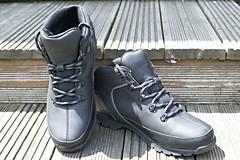 Day 178 of 366 (Lloyd C Nicholls) Tags: black boots footwear timberland