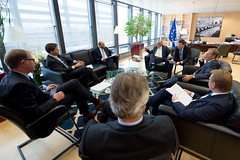 EU Presidents meet with Dutch Prime Minister (europeancouncilpresident) Tags: european martin belgium mark president eu meeting donald schultz council europeanunion tusk jeanclaude rutte juncker berlyamont brusselsberlaymont