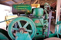 6HP McDonald Imperial Super Diesel Footpath Roller (outback traveller) Tags: historic seq