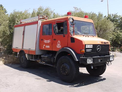 Fire Appliance Sitia Crete