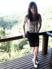 2016.06-31 (SamyOliver) Tags: brazil nature shoes highheels oliver skirt redhead tranny transvestite heels samantha crossdresser crossdress samy transformista genderfluid samanthaoliver samycd samyoliver