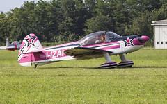 Pink airplane (davidesantiano) Tags: aerei acrobatico acrobazie aereitalia allaperto aeroporto airport girl pink rosa ragazza pilota pilot volo fly italia city italy landed parking