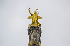 Berlin - Siegessule | Columna de la Victoria (mariosantiaguino_) Tags: berlin hauptbahnhof sbahn spree tiergarten reichtag spandauer