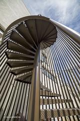 BAGNOLET Escalier de secours-4 (hervekaracha) Tags: stairs nikon bagnolet escaliers d610 contreplongee samyang14mm