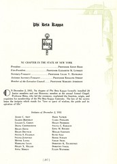 Phi Beta Kappa (Hunter College Archives) Tags: students 1932 yearbook fraternity hunter awards honors huntercollege studentorganizations phibetakappa organizations fraternities wistarion thewistarion