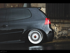 Korey Garrity // MKV VW GTI (Eric Dowd) Tags: car vw volkswagen automotive rs bbs stance korey garrity bagged fitment