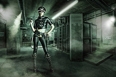 Verboten! (BlackDog1966) Tags: light portrait woman art girl beauty composite dave lady digital photoshop portraits dish image cosplay joel hill manipulation calvin fantasy portraiture hollywood theme themed alienbee imagemanipulation davehill compositing themes kicker grimes beautydish joelgrimes octobox thedavehilllook calvinhollywood