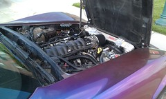LQ9 Motor in Custom 1978 Corvette (TF Twitch) Tags: chevrolet stingray engine motor 1978 corvette ls c3 lq9