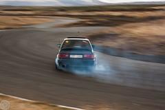 BMW E30 DRIFTING (Danniorn) Tags: pictures cars car iceland cool daniel smoke tire tires bmw kit 1855mm danni myndir drift lense icelandic orn kitlense 40d bmwkraftur danniorn danniornsmarason