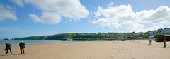 Photo of Saundersfoot beach, looking towards the harbour