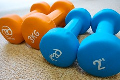 Dumbbells (akrabat) Tags: dumbbells 2013 1nikkorvr1030mmf3556