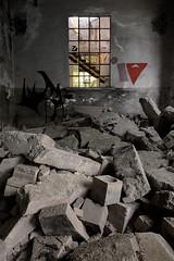 Landslide (S.I.O.M.E.) (Lord Markus) Tags: italy abandoned graffiti nikon italia industrial decay abandon ghostly urbex fabbrica abbandono abbandonata degrado malnate d300s
