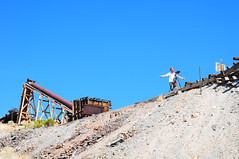 Conveyer (Arrabiata) Tags: trestle mill gold photographer nevada ghosttown curt conveyer