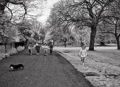 Kensington Gardens (Anatoleya) Tags: park city bw white black london gardens garden children lens ir four lumix olympus panasonic micro infrared converted kensington pancake 20mm 43 thirds f17 fourthirds microfourthirds 665nm anatoleya epl3