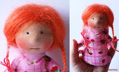 Mini (immertreu-dolls) Tags: toy doll child handmade waldorf fabric organic steiner anthroposophy waldorfdoll clothdoll anthroposophie waldorfpdagogik waldorfpuppe stoffpuppe waldorfeducation waldorftoy kuschelpuppe waldorfpedagogy waldorferziehung immertreu