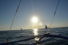 (Seoul Sonic Force) Tags: philippines boracay whitebeach sunsetsailing
