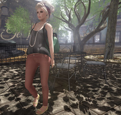 Pin Up (-Coral-) Tags: life fashion 3d truth mesh avatar sl secondlife virtual second hof lotd ootd