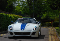 Ferrari 599 GTO (Richard T Smith) Tags: blue white t 5 sunday smith ferrari richard gto rare supercar dsl p1 mille miglia 599 pistonheads dsl5