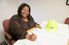 D5657_CM-98 (MoDOT Photos) Tags: hardhat female tamara missouri plans engineer employee pitts multimodal modot bycathymorrison