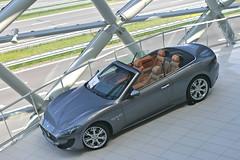 Maserati GranCabrio Sport (Richard de Heus) Tags: cars sport utrecht s exclusive maserati supercars granturismo carspotting louwman 2013 grancabrio
