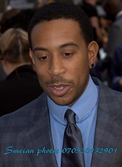Chris LUDACRIS Bridges (iron_smyth48) Tags: red portrait man celebrity film face shirt hair carpet eyes tie event jacket singer actor earrings premiere celeb