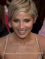Elsa Pataky (iron_smyth48) Tags: red portrait woman white celebrity film smile face female hair carpet star glamour eyes dress teeth event blonde actress premiere celeb
