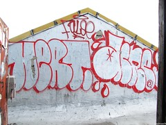Hert Acne False (soulroach) Tags: nyc ny brooklyn graffiti mayhem bf false hert acne dklt