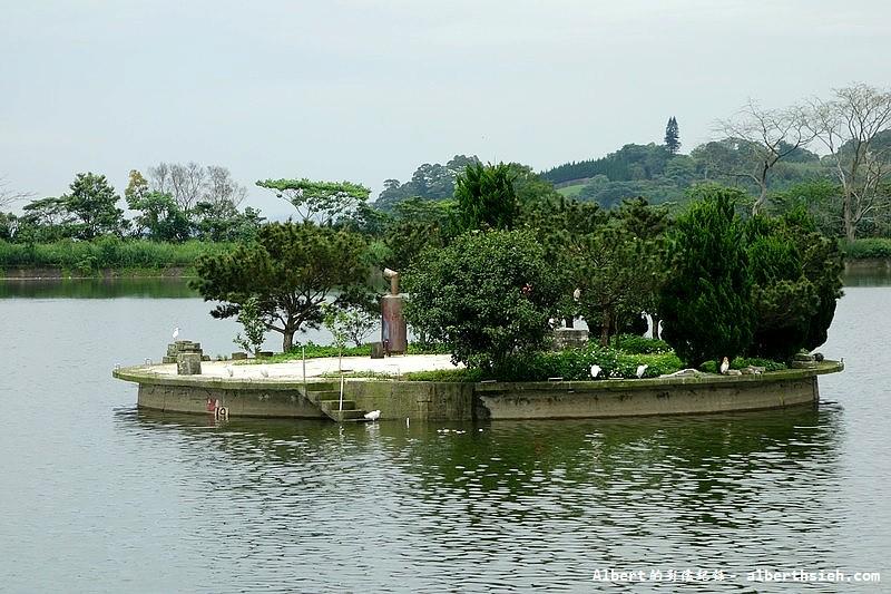 桃園大溪.水中土地公