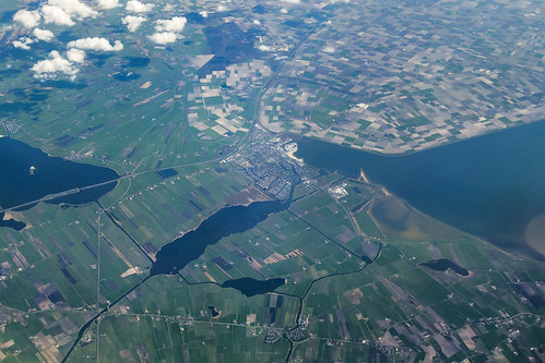 20130516_F0001: Agricultural patterns around Lemmer, the Netherlands