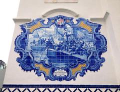 Os Lusíadas (Sara F. Soares) Tags: art history portugal station train de railway os vila azulejo franca história azulejos xira lusíadas vilafrancadexira