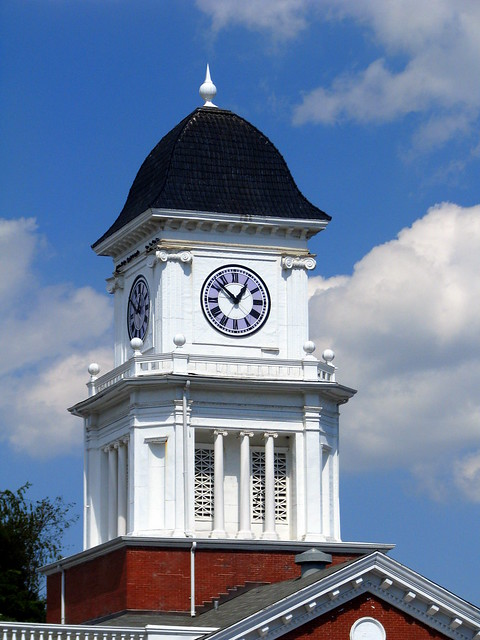 Washington County Courthouse Clock Tower (Ver. B) - Jonesborough, TN
