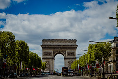 Arc de Triomphe (arthurhs) Tags: paris france arcdetriomphe placecharlesdegaulle musedelarcdetriomphe