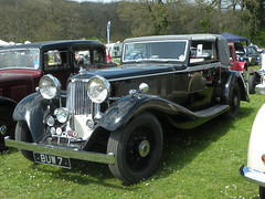 Siddeley Special 1933 (BIKEPILOT) Tags: classic car vintage airport special vehicle popham airfield 1933 aerodrome siddeley eghp classicvehiclerally