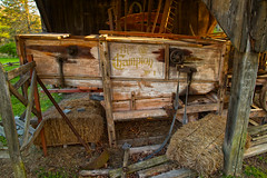 The Champion No 1 Antique Thresher (SunnyDazzled) Tags: history barn newjersey village ellis antique farm champion machine equipment machinery pa works keystone hay bales millbrook agricultural no1 delawarewatergap thresher threshing pottstown dwg