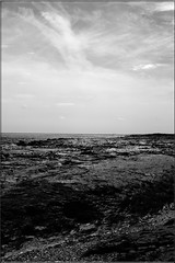 Clay Bradwell Beach (PaulHP) Tags: white black beach monochrome mud clay essex bradwell bradwellonsea dengiepeninsula