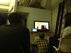 skype with luis (studio-s) Tags: boston dominicanrepublic massachusetts skype luisvargas reunioninthedr
