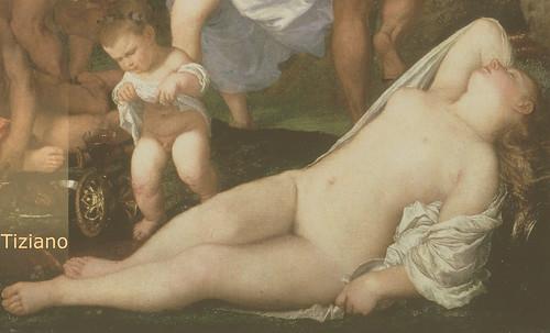 """Genealogía de las Soñantes, versiones de Lucas Cranach el Viejo (1534), Giorgione (1510), Tiziano Vecellio (1524), Nicolas Poussin (1625), Jean Auguste Ingres (1864), Amadeo Modigliani (1919), Pablo Picasso (1920), (1954), (1955), (1961). • <a style=""""font-size:0.8em;"""" href=""""http://www.flickr.com/photos/30735181@N00/8747947222/"""" target=""""_blank"""">View on Flickr</a>"""