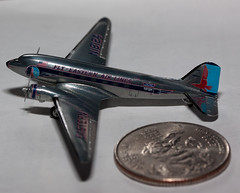 Eastern Airlines DC-3 in 1/400 Scale (Paul Robbins - BNA-Photo) Tags: dc3 1400 easternairlines