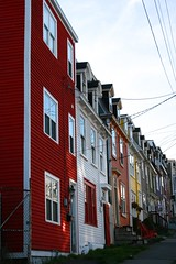 (cscotchmer) Tags: houses newfoundland stjohns row therock streetscape