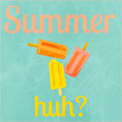 Summer (Mayy.) Tags: summer me colors by illustration made popsicles