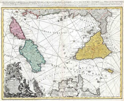 Regno di Sicilia-homannheirs-1762