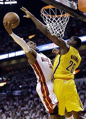NBA PACERS-HEAT (fotostelefonorojo) Tags: usa miami fl